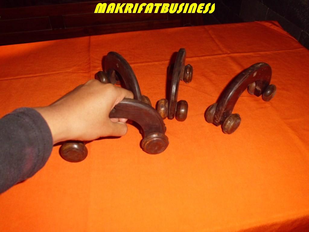 Alat pijat kayu SONOKELING model roda by Makrifatbusiness