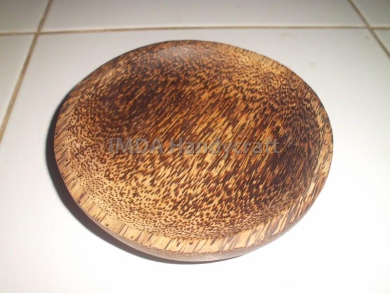 Cobek Bulat KAYU AREN ukuran 15 cm