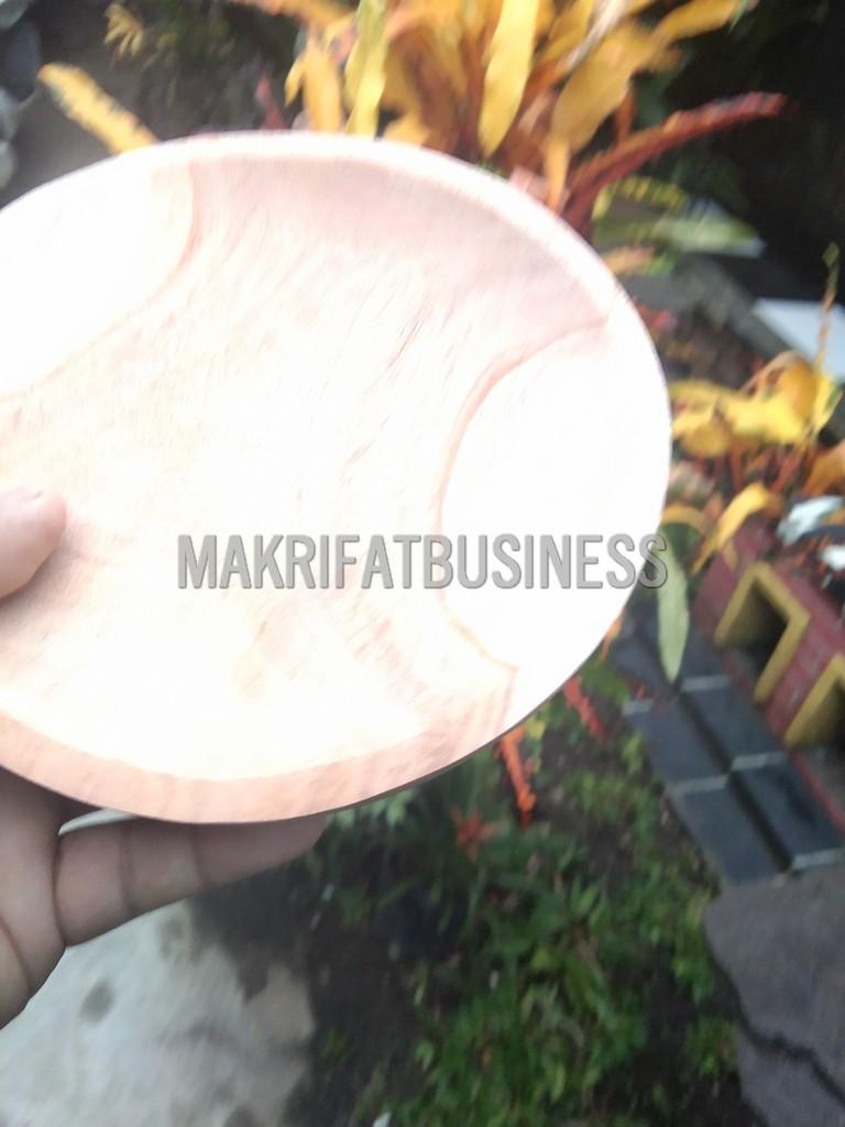 Cobek KAYU MAHUNI  Bahan Papan Asli`14  cm
