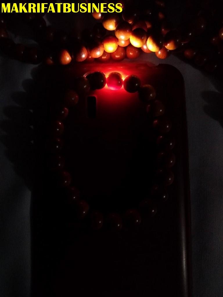 Gelang GAHARU AGHATIS KAYU RAJA Tembus Cahaya 7 mm