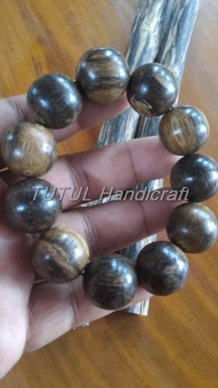 Bracelet Agarwood Gelang GAHARU CENGKEH PAPUA TENGGELAM ukuran 20 mm