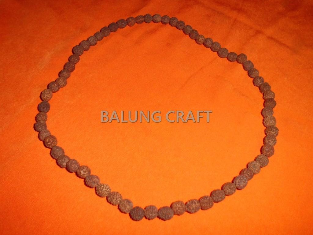 Kalung biji GANITRI ukuran 10 mm