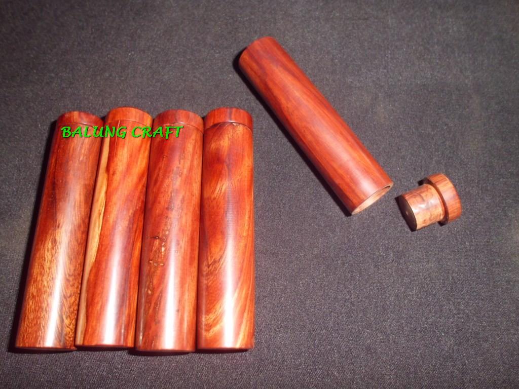 Kotak Pipa Rokok Cerutu KAYU GALIH NAGASARI Model Polos 1