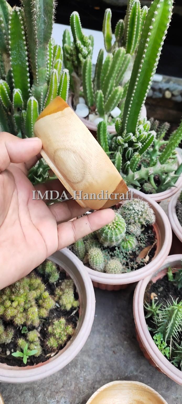 Mangkok Kayu Jati 10 cm