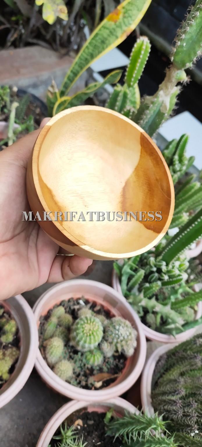 Mangkok Kayu Jati 12 cm - 15 ribu - 150 gram