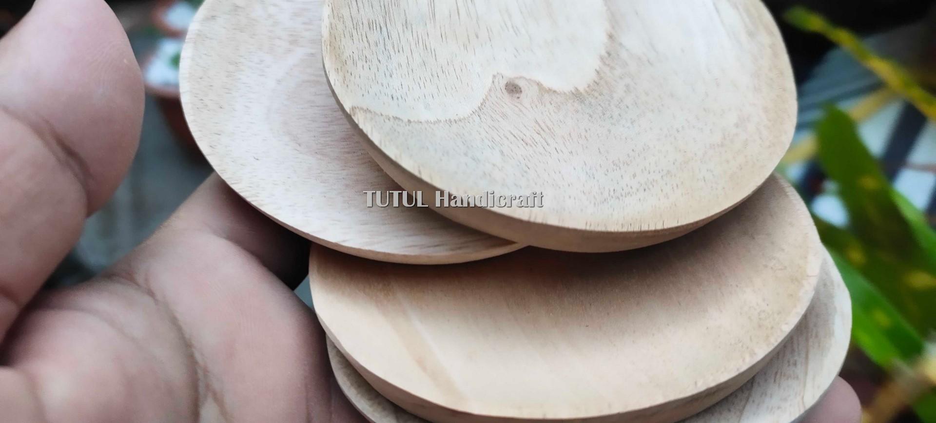 Mangkok Sambal Acar KAYU MAHUNI 8 cm
