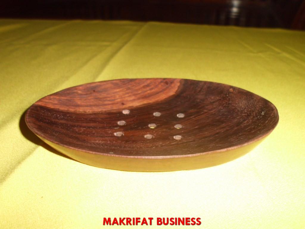 Mangkok sambal kayu SONOKELING dimater 13 x 8 cm