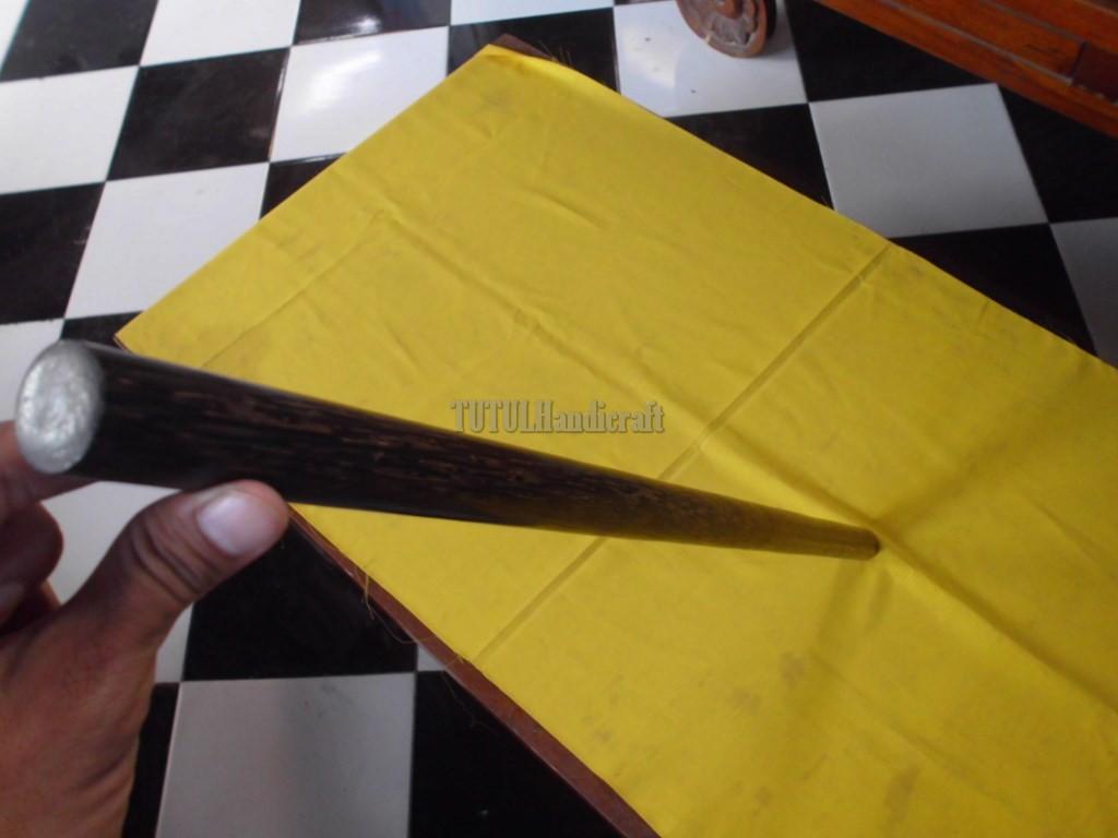 Tongkat pentung stick kayu LIWUNG MACAN diameter 2,5 cm  panjang 70 cm