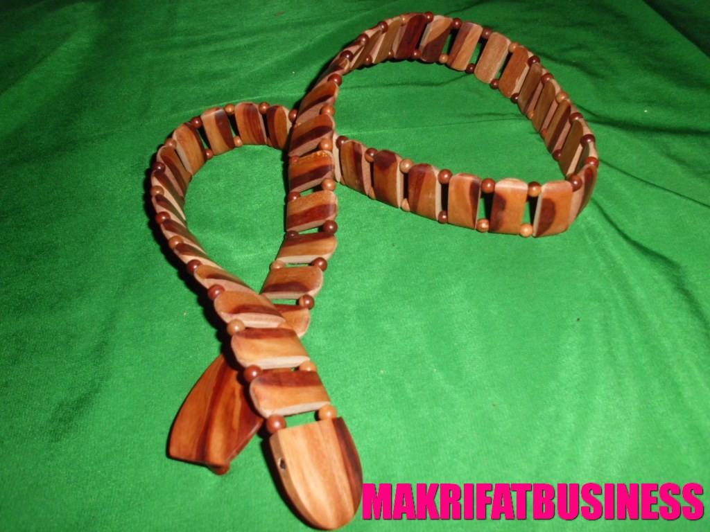 Sabuk kayu galih nagasari model oval 01