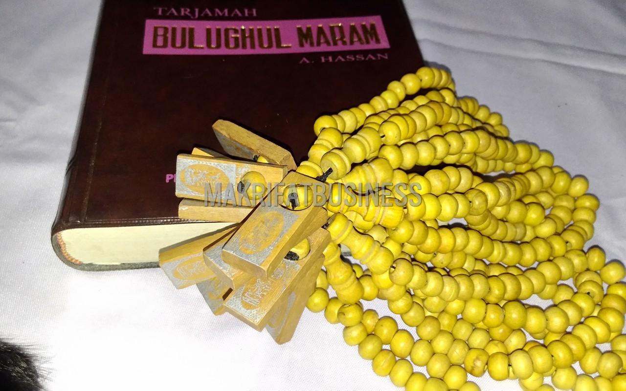 Tasbih Muslim Kayu Kopi Natural 33 Biji 8 mm - 800 rupiah (15)