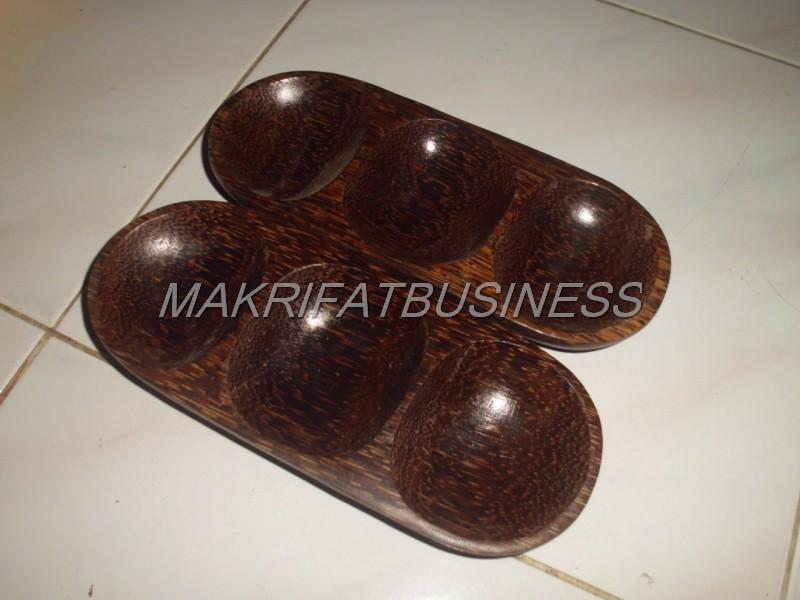 mangkok sambal Kayu Aren